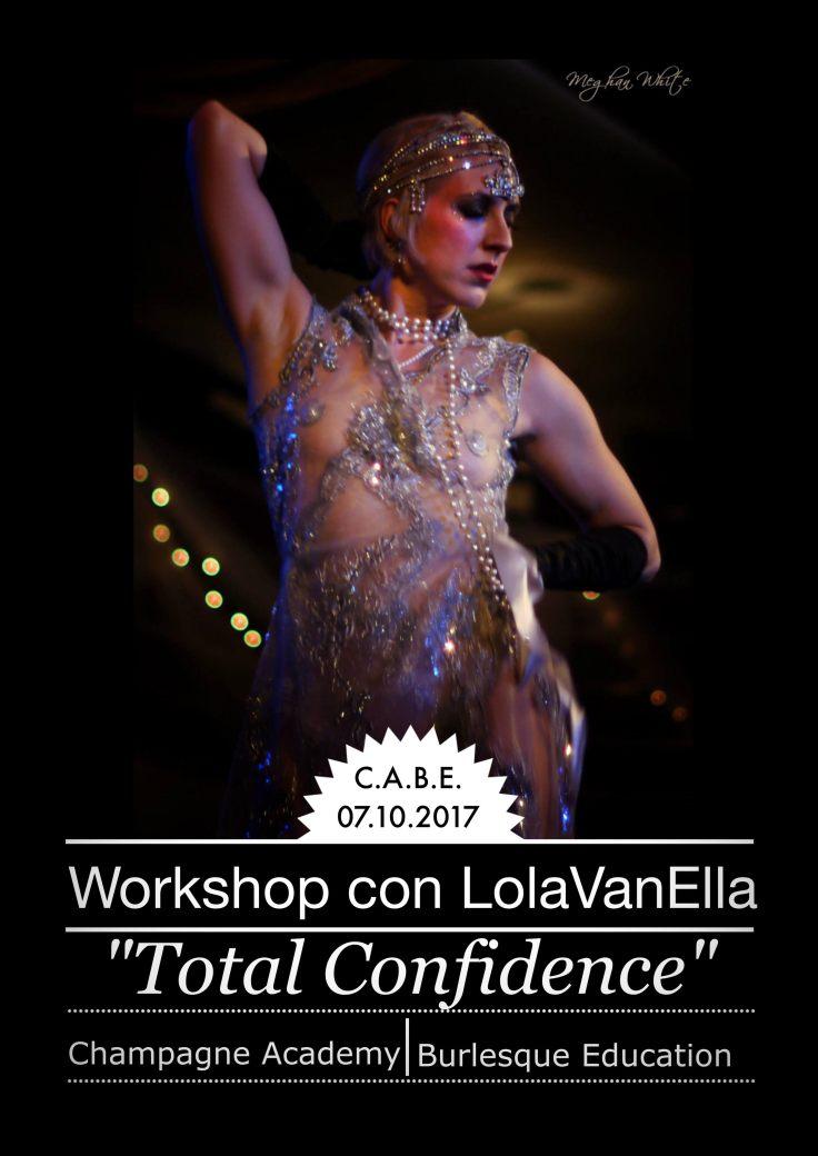 Locandina Total Confidence con Lola Van Ella